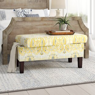 Tosha Cotton Upholstered Storage Bench
