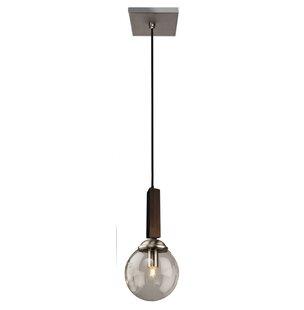 Espresso 1-Light Globe Pendant by Artcraft Lighting