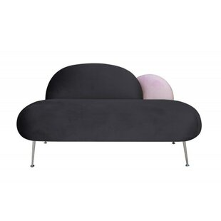 Plum 2 Seater Loveseat By Happy Barok