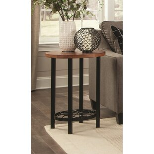 Carrollton Scrollwork Round End Table by ..