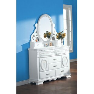 Affordable Price Rizer Jewelry Bathroom/Vanity Mirror By Charlton Home