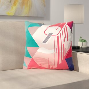 Watermelon Popsicle Throw Pillow