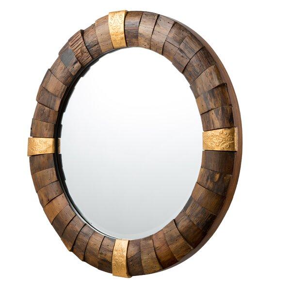 Quintara Round Reclaimed Wood Rustic