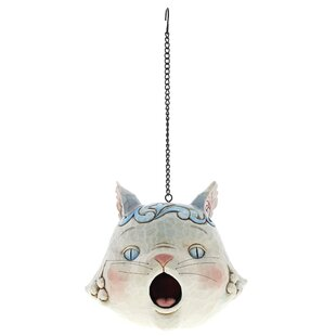 Cat Hanging Bird House By Heartwood Creek