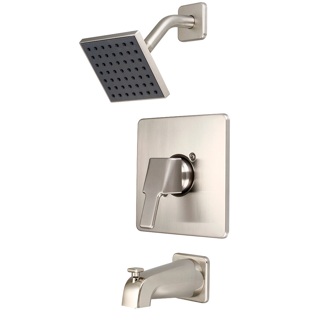 Olympia Faucets I3 Single Handle Volume Control Tub And Shower Faucet Reviews Wayfair