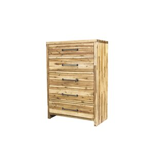 Camilo 5 Drawer Chest by Union Rustic