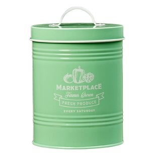 Marketplace Metal 2.38 qt. Kitchen Canister