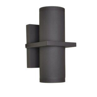 Reviews Leilla 2-Light Outdoor Sconce By Orren Ellis