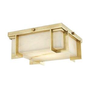 Brayden Studio Tameka 1-Light LED Flush Mount