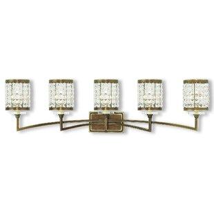 Willa Arlo Interiors Wetzel 5-Light Vanity Light