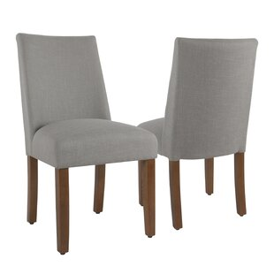 Best Reviews Barnabas Upholstered Dining Chair (Set of 2) by Highland Dunes Reviews (2019) & Buyer's Guide