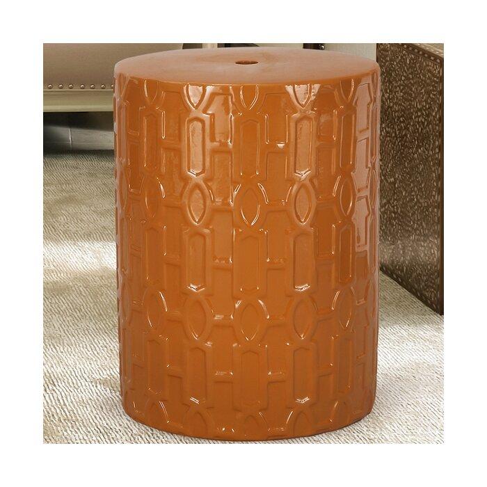 round ceramic garden stool - Ceramic Garden Stool