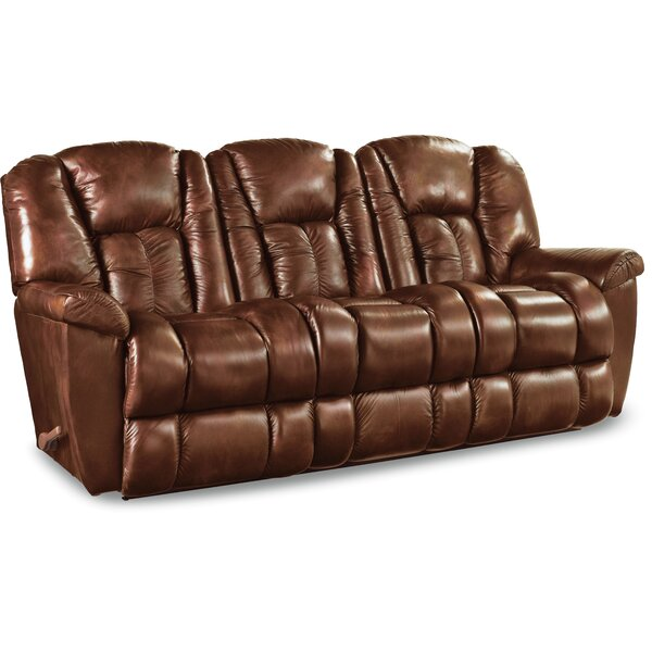 La Z Boy Maverick Leather Reclining Sofa U0026 Reviews | Wayfair Part 82