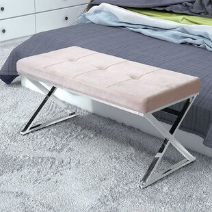 Roberdeau Upholstered Bench by Mercer41