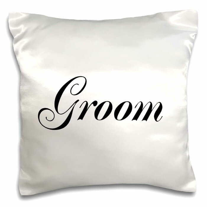 Groom Part Of Bride And Groom Set Couples Gift Wedding Marriage Just Married Bachelor Party Pillow Cover