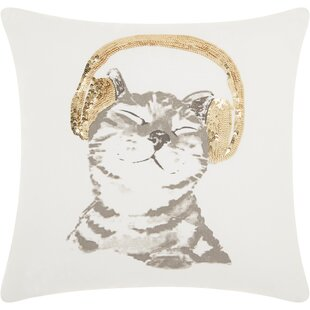 Carle Cotton Throw Pillow