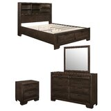 Pittsfield 4 Piece Bedroom Set by Wrought Studio