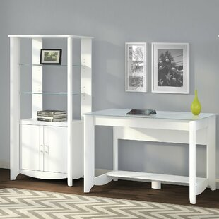 Latitude Run Wentworth 2 Piece Desk Office Suite