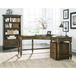 Compare Sidra 3 Piece L-Shape Desk Office Suite by Darby Home Co