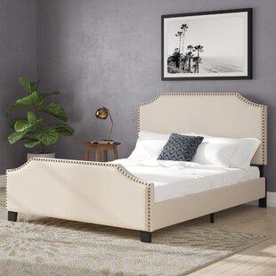 Swampscott Upholstered Platform Bed by Three Posts Fresh