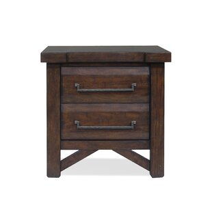 Bricelyn 2 Drawer Nightstand