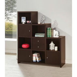 Stasya Asymmetrical Reversible Step Bookcase