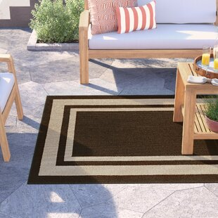 Ackerson Brown/Beige Indoor/Outdoor Area Rug