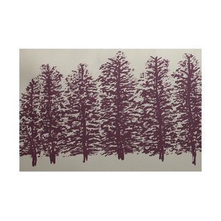 Babbitt Bluff Purple Indoor/Outdoor Area Rug