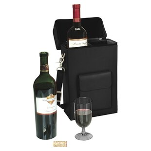 Personalized 2 Bottle Wine Protector and Carrier