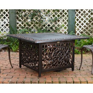 Sedona Cast Aluminum Propane Fire Pit Table by Fire Sense Great Reviews