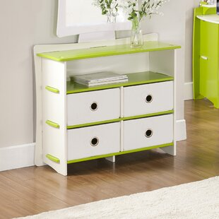 Legare Kids 4 Drawer Double Dresser
