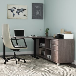 Heyworth L-Shape Desk Office Suite by Comm Office #1