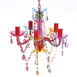 Multi coloured chandeliers wayfair save to idea board aloadofball Images