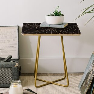 Three Of The Possessed Biscayne End Table by East Urban Home Sale