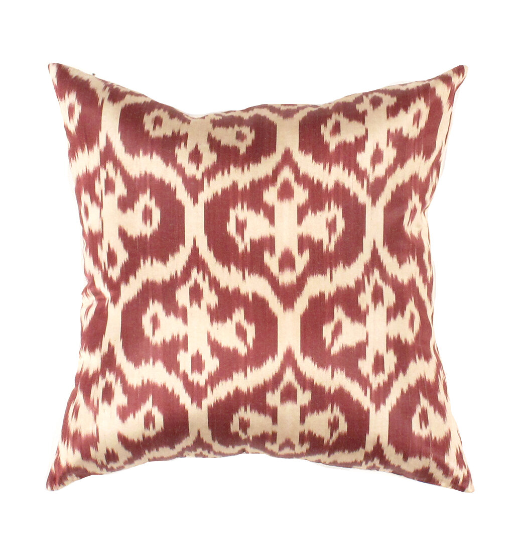Bungalow Rose Witney Silk Throw Pillow Wayfair