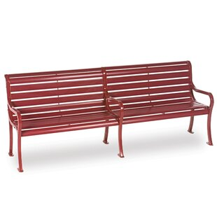 Courtyard Series Iron Park Bench