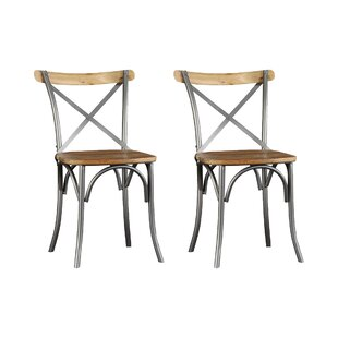 Zoey Solid Wood Dining Chair (Set Of 2) By Laurel Foundry