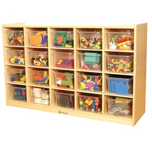20 Compartment Cubby ByA+ Child Supply