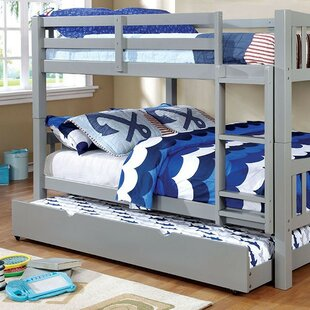 Fontinella Full over Full Bunk Bed