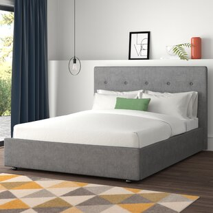Belmonte Upholstered Bed Frame By Hykkon