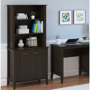 Myles 2 Piece Desk Office Suite by Charlton Home