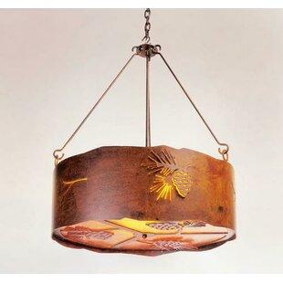 Steel Partners Pinecone 3-Light Pendant