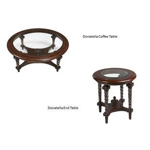 Donatella 2 Piece Coffee Table Set Benettiu0027s Italia Lovely