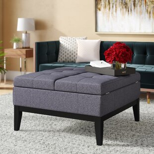 Iliana Tufted Storage Ottoman by Wrought Studio