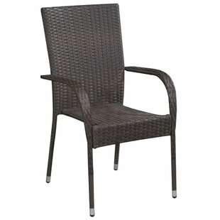 Ludie Stacking Garden Chair (Set Of 2) Image