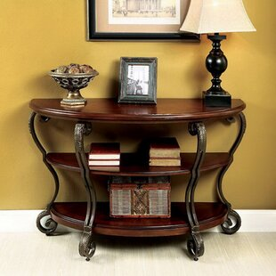 Joetta Transitional Console Table by Fleur De Lis Living