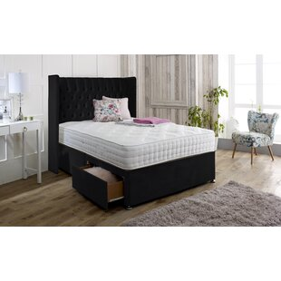 Alianna Upholstered Divan Bed And Headboard By Marlow Home Co.