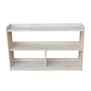 Highland Dunes Mitesh Divided Standard Bookcase