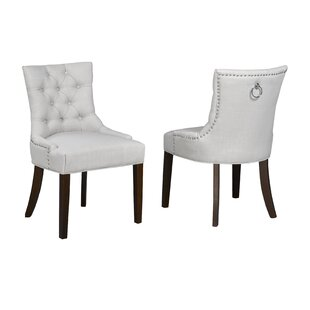 Darby Home Co Letitia Upholstered Dining Chair (Set of 2)
