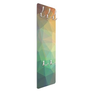 No.RY32 Triangular Wall Mounted Coat Rack By Symple Stuff